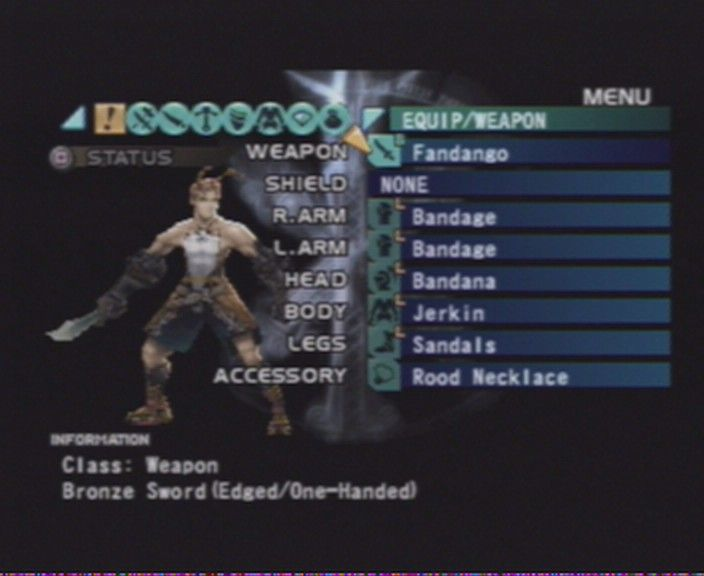 Vagrant Story PlayStation Changing weapons, shields, armour, upgrading stuff, using magic... learning quick navigation through ingame menu is a must.