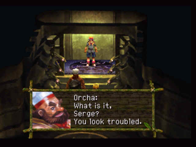 Chrono Cross PlayStation Starting the game