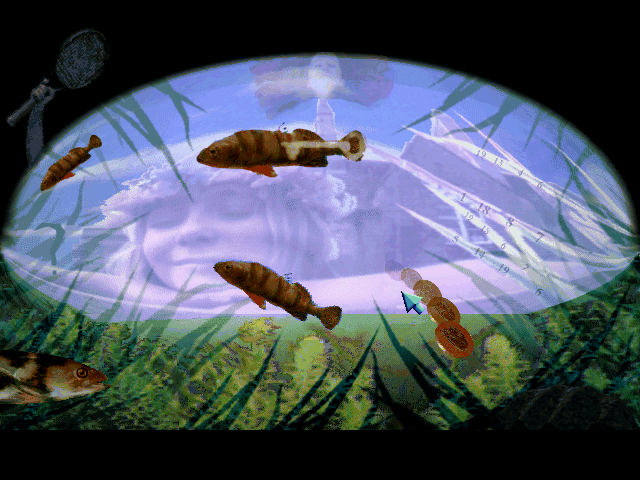 Blue Ice [PC] 238828-blue-ice-dos-screenshot-in-the-pond
