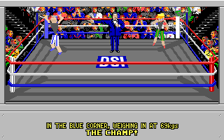 4-D Boxing Amiga Your goal - to fight (and hopefully defeat) the champ