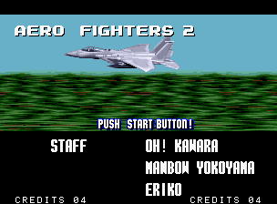 Aero Fighters 2 Neo Geo Intro - some plane