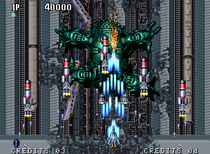 Aero Fighters 2 Neo Geo Japan boss