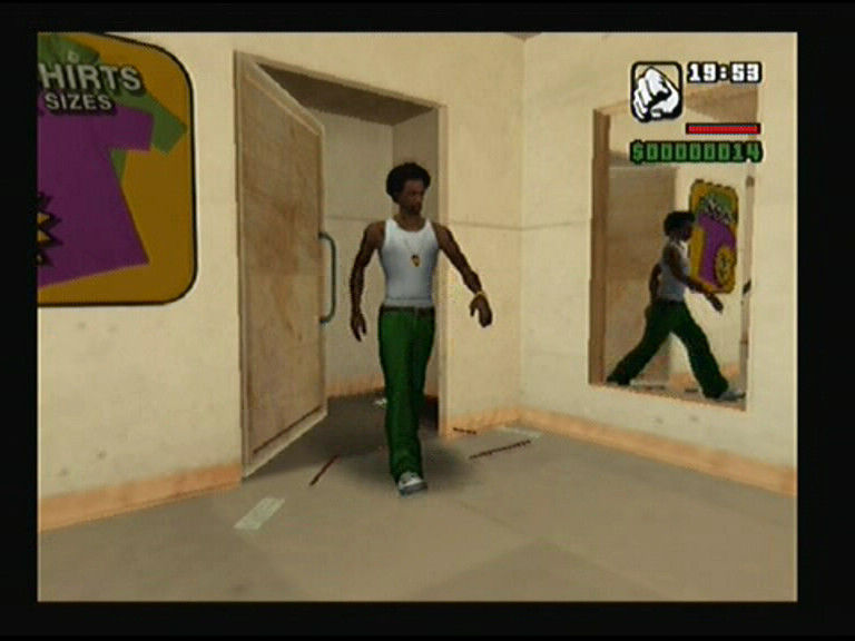 Grand Theft Auto: San Andreas PlayStation 2 There are different brand clothes shops around the city