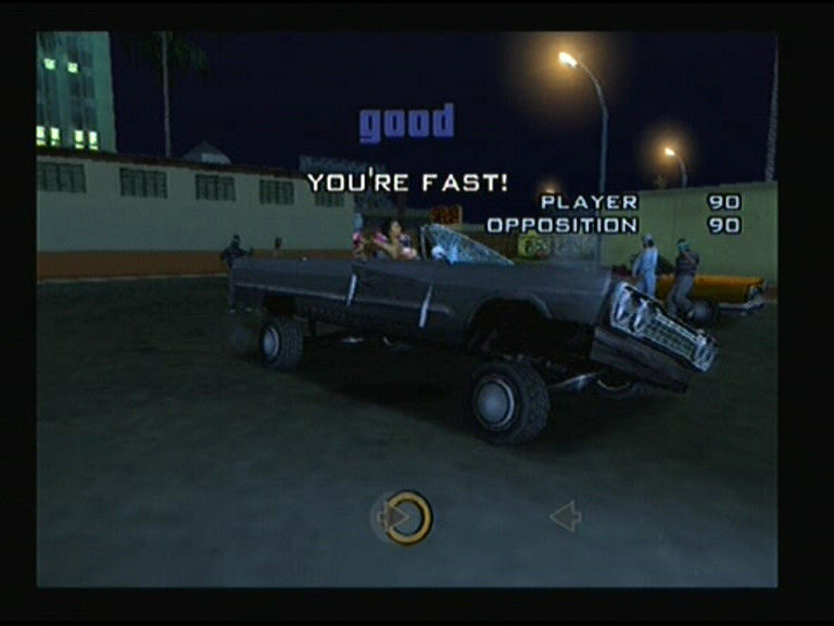 Grand Theft Auto: San Andreas PlayStation 2 Lowrider competition
