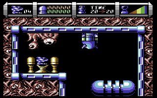 Cybernoid II: The Revenge Commodore 64 Starting position