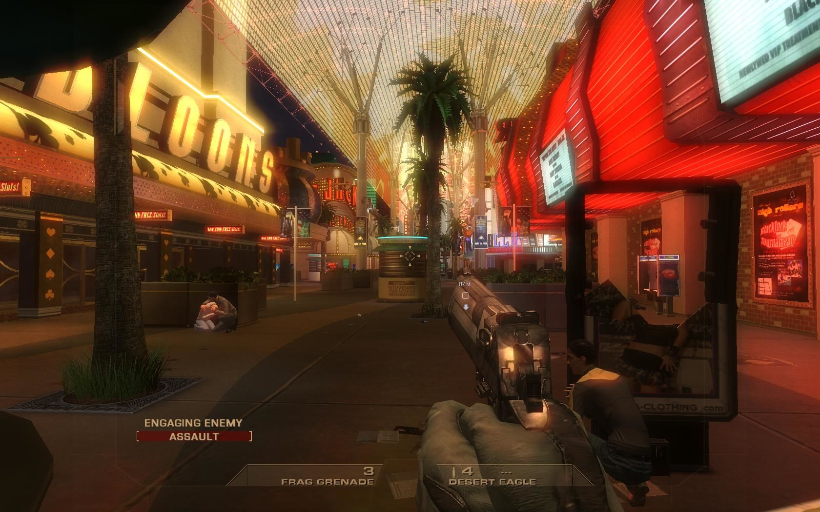 Tom Clancy's Rainbow Six: Vegas Windows Some locations are very spectacular.