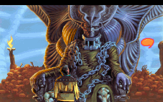 King's Quest VI: Heir Today, Gone Tomorrow DOS Face to face with death himself!