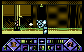 Dalek Attack Commodore 64 The first boss