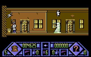 Dalek Attack Commodore 64 Entered a house