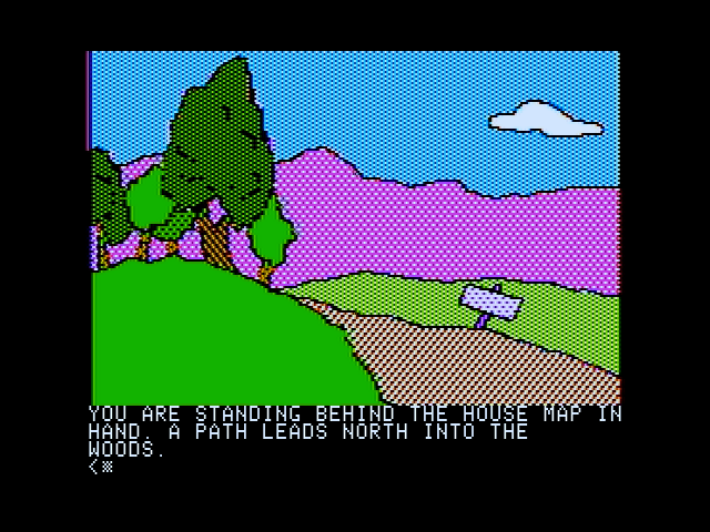 Death in the Caribbean Apple II The beginning location