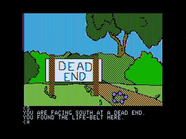 Death in the Caribbean Apple II Drat, a dead end!