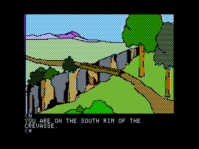 Death in the Caribbean Apple II Should I cross this large crevasse?