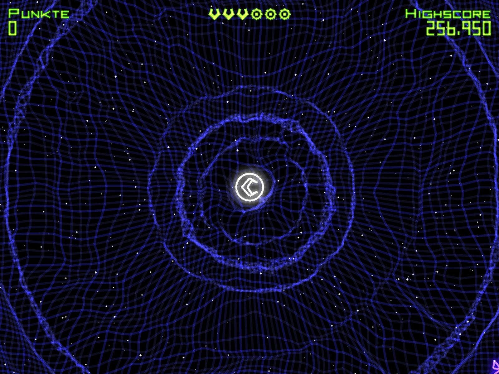 Geometry Wars: Retro Evolved Windows Start of the game