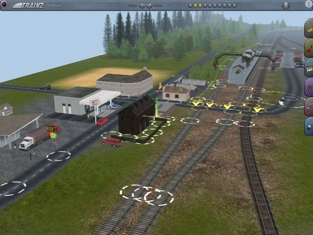 Trainz virtual railroading on your pc screenshots for for Online house builder simulator