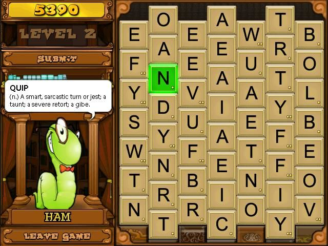 Bookworm Deluxe Windows A definition