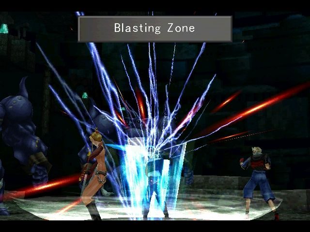 Final Fantasy VIII Windows The 3rd of the 4 possible finishing moves for Squall's limit break.