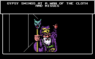 Wizardry V: Heart of the Maelstrom Commodore 64 My attack misses!