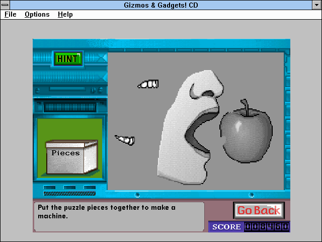 Super Solvers: Gizmos & Gadgets! Windows 3.x Another picture puzzle