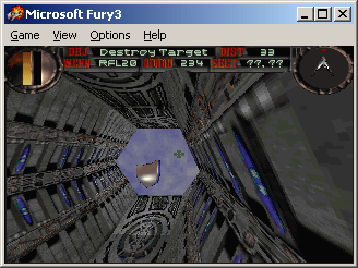 Fury³ Windows Out of the tunnel