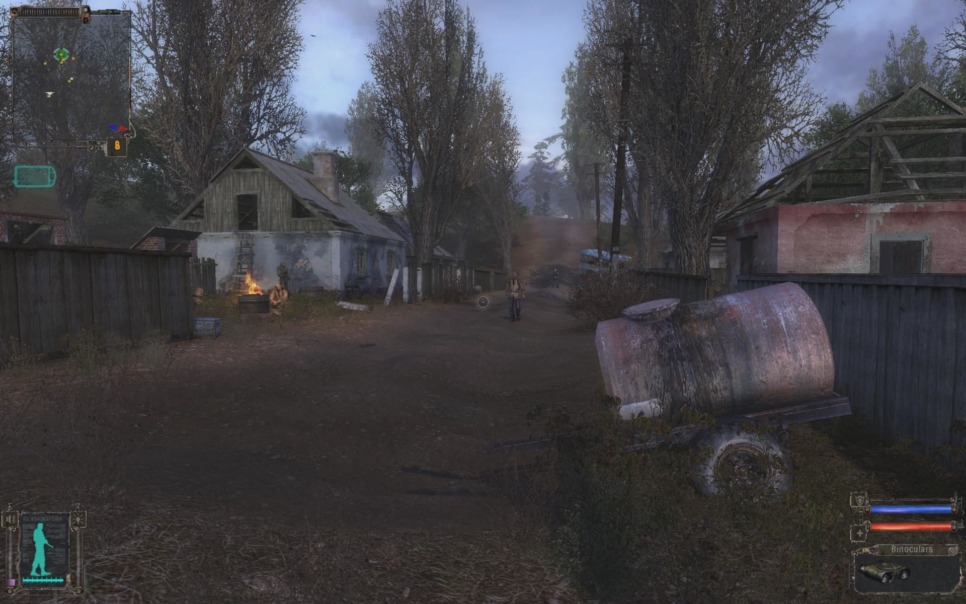 S.T.A.L.K.E.R.: Shadow of Chernobyl Windows This is the small village where you start off the game.