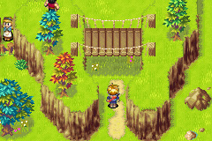 Golden Sun Game Boy Advance Welcome to the Village of Vault!