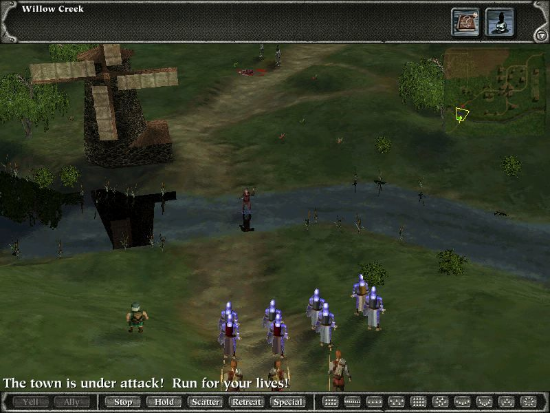 Myth II: Soulblighter Linux Willow Creek River
