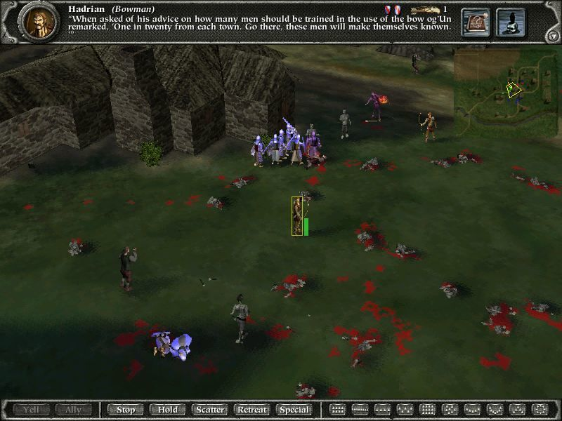 Myth II: Soulblighter Linux Death and destruction