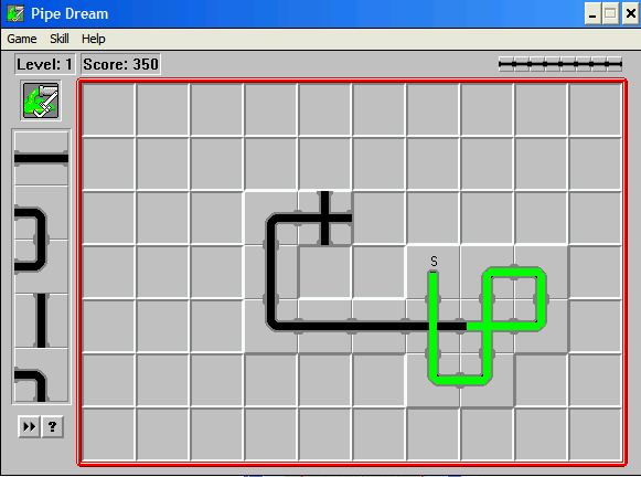 Pipe Dream Windows 3.x Level 1 in progress