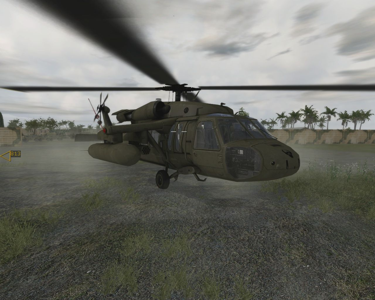 ArmA: Combat Operations Windows Isn't she a beauty? The Sikorsky UH-60 transport helicopter or short: Blackhawk.