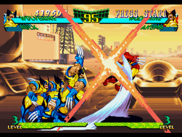 Marvel Super Heroes vs. Street Fighter Screenshots for ...