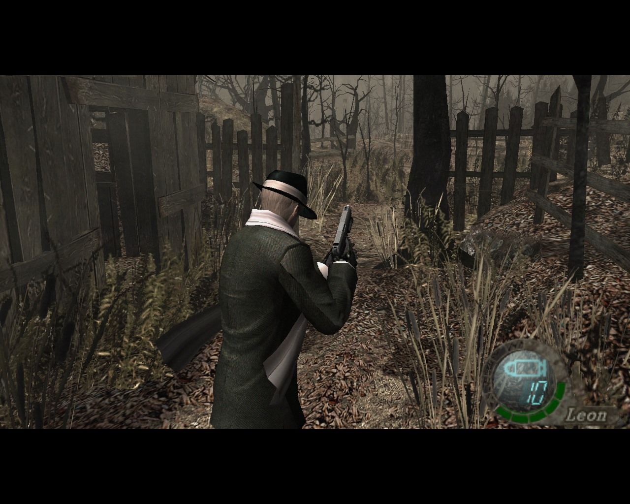 "Resident Evil 4 Windows Leon's ""Special 2"" costume. Looks like a 60s hitman doesn't he?"