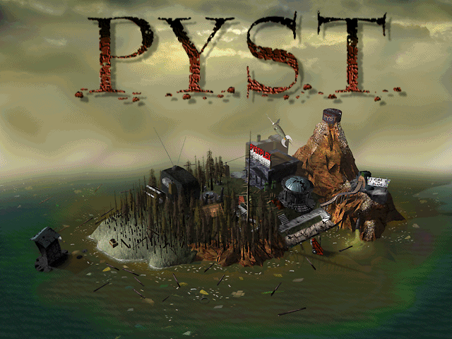 Pyst (Special Edition) Windows 3.x Title screen