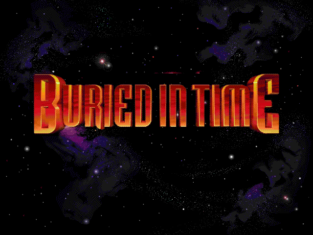 The Journeyman Project 2: Buried in Time Windows 3.x Title screen