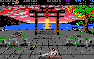 Chop N' Drop Amiga In this bonus sequence you have to kick the bombs away before they explode.