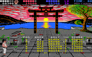 Chop N' Drop Amiga Entered the Hall Of Fame.