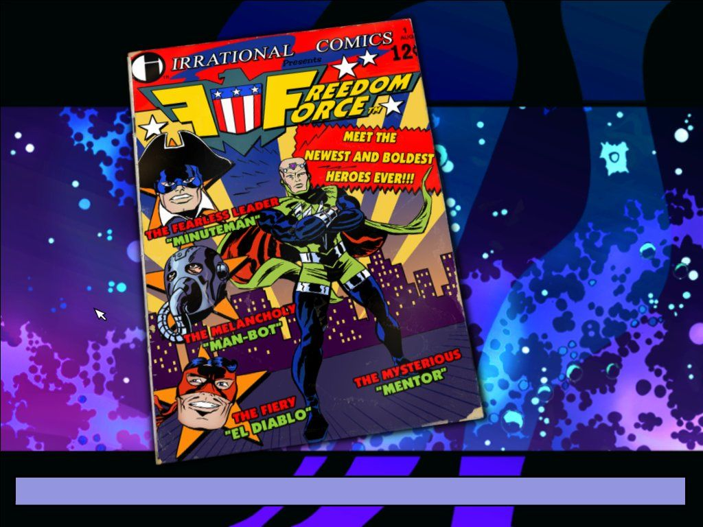 Freedom Force Windows Loading screen