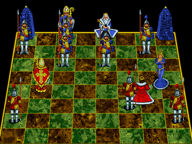 Battle Chess: Enhanced CD-ROM DOS Checkmate