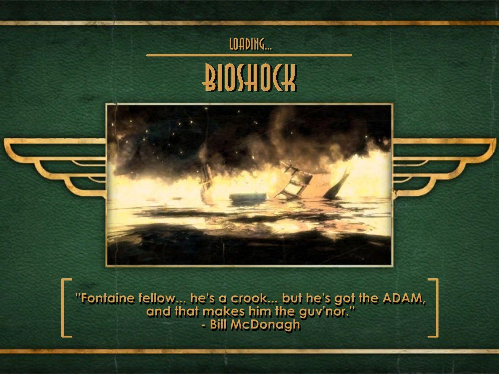 BioShock Windows Stylish loading screen