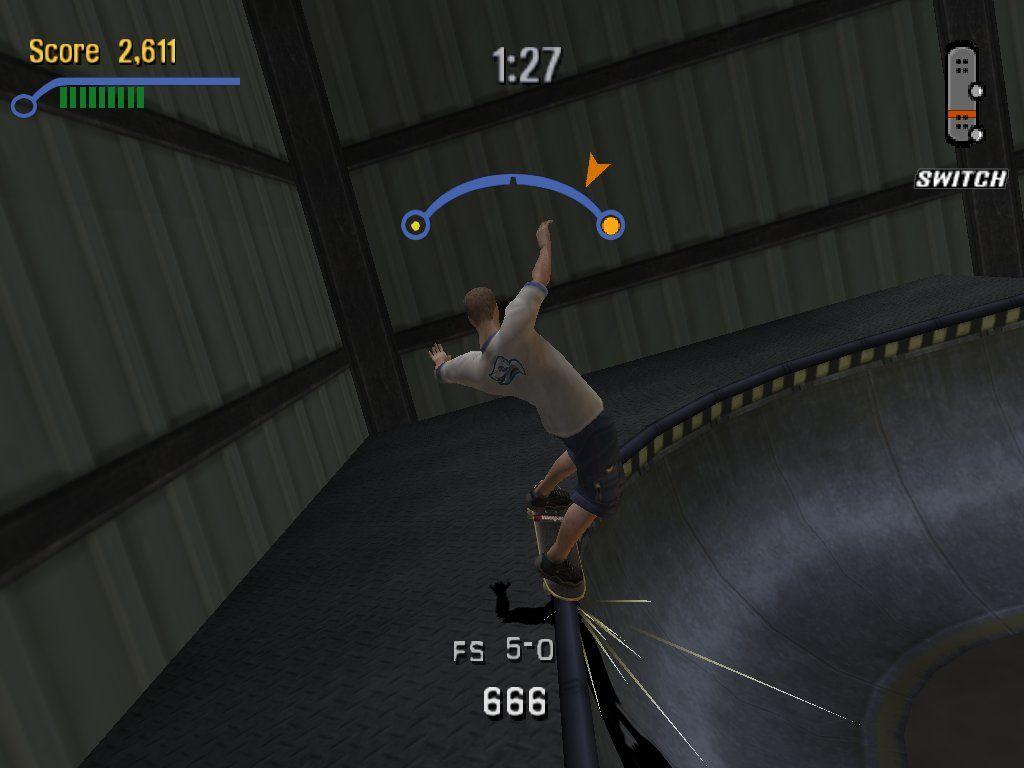 Tony Hawk's Pro Skater 3 Windows This one is tricky!