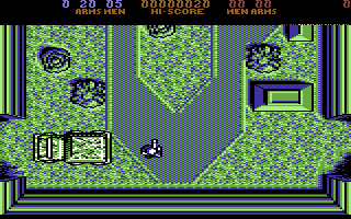 Fernandez Must Die Commodore 64 Starting position