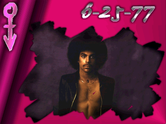 Prince Interactive Windows 3.x Photo gallery with some early pictures of Prince