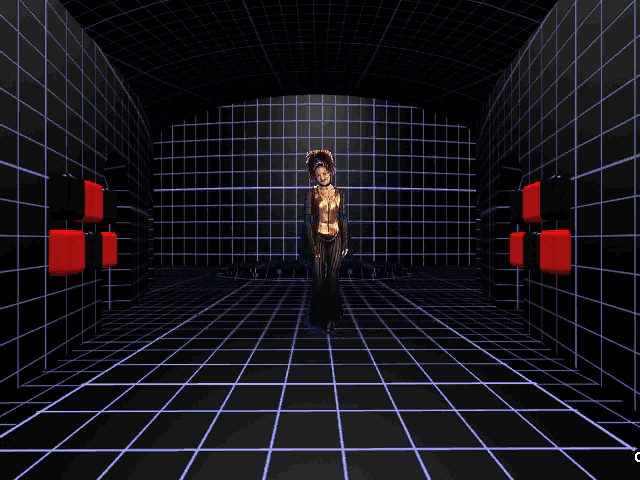 Prince Interactive Windows 3.x Holographic room