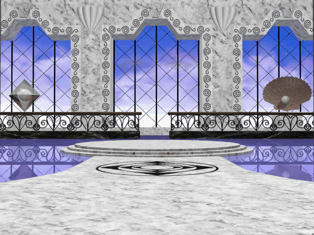 "Prince Interactive Windows 3.x ""Diamond & Pearls"" room"