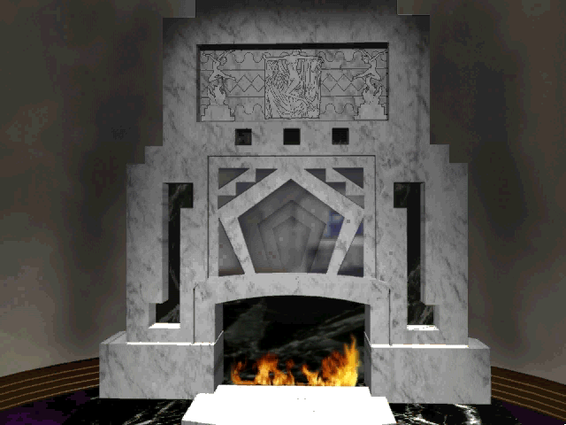Prince Interactive Windows 3.x Fireplace