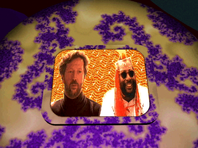 Prince Interactive Windows 3.x Eric Clapton & George Clinton, a strange pairing