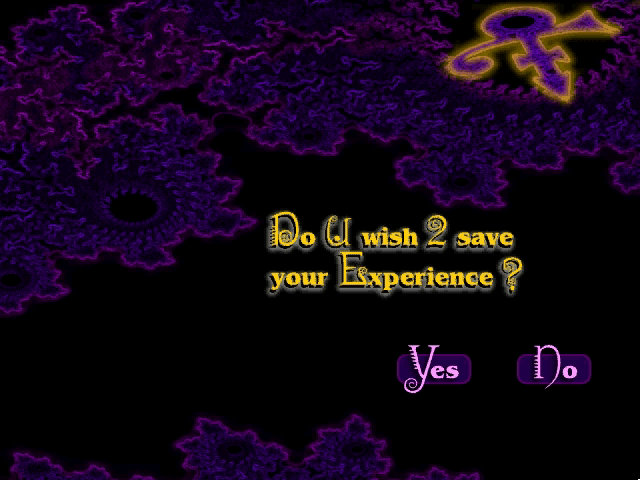 Prince Interactive Windows 3.x Quit screen