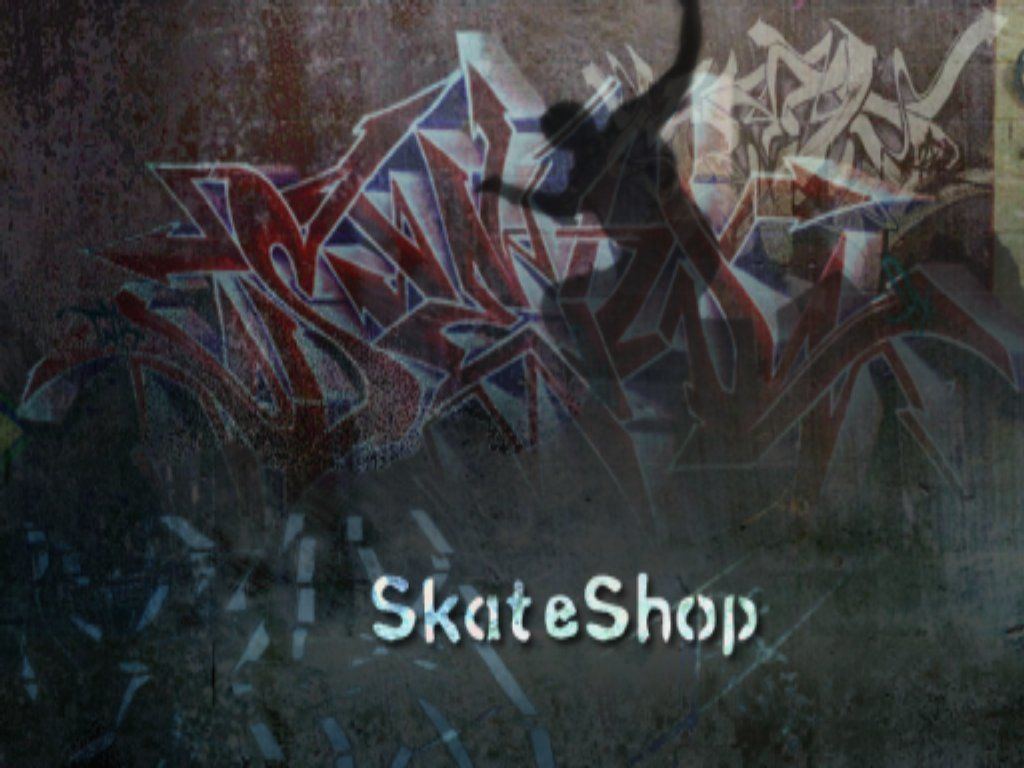 Tony Hawk's Pro Skater 3 Windows Skate Shop loading splash
