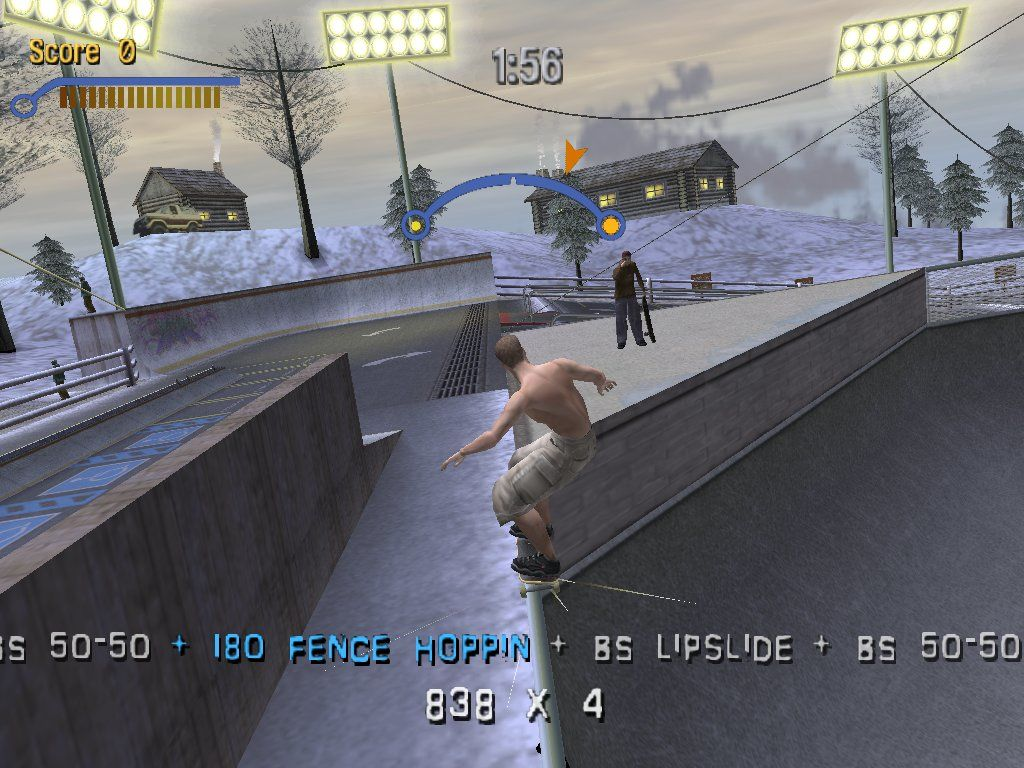 Tony Hawk's Pro Skater 3 Windows This is only the beginning of a very long series of tricks...