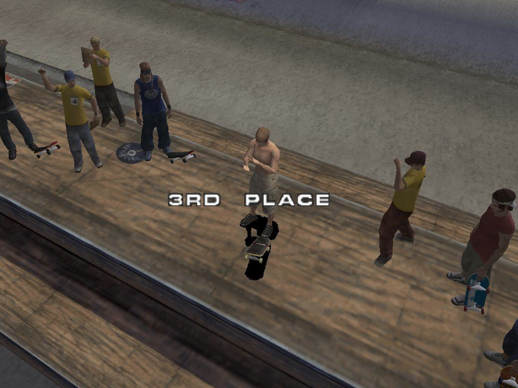 Tony Hawk's Pro Skater 3 Windows Finally - the bronze medal is mine! Until I found a hidden room with a very easy to master bowl, it was damn hard to get at least a decent score :)