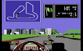 Ferrari Formula One Commodore 64 The city of Rio